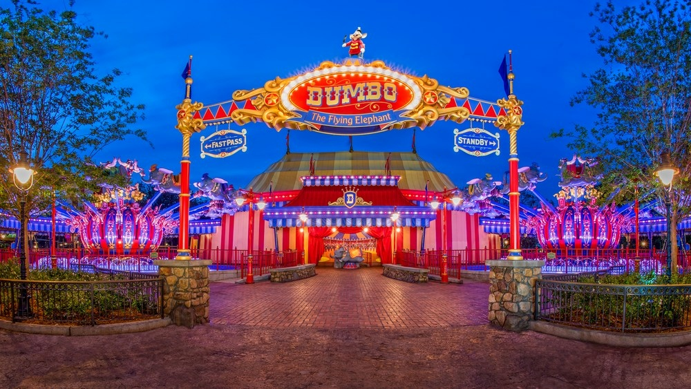 Storybook Circus Area Of Magic Kingdom Closing Early Select Nights in March