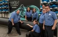 TRON Construction Milestone At Magic Kingdom