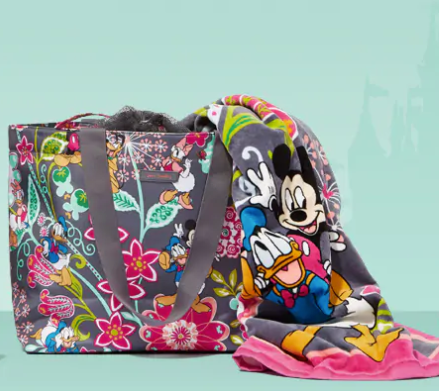 Two Magical New Disney Vera Bradley Prints Are Blooming For Spring 2