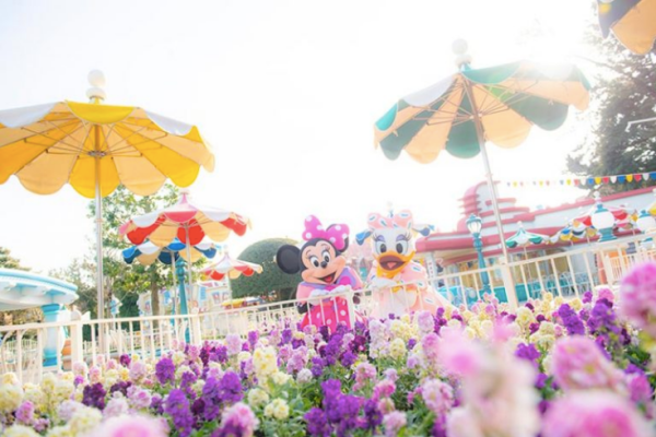 Minnie Mouse's Day Out with Daisy Duck at Tokyo Disneyland! 10