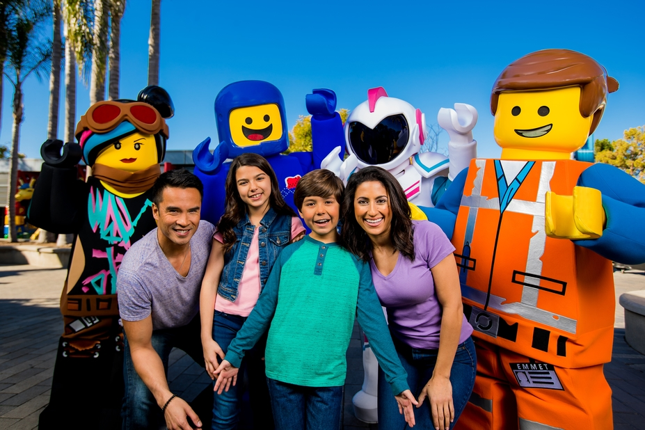 LEGOLAND Annual Passholders Get a Special Preview of THE LEGO MOVIE WORLD!