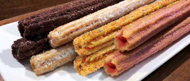 New Churro Flavors Now Available at Universal Studios Hollywood
