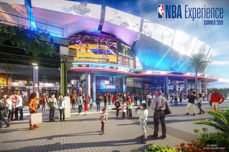NBA Experience is opening August 12th, 2019 in Disney Springs