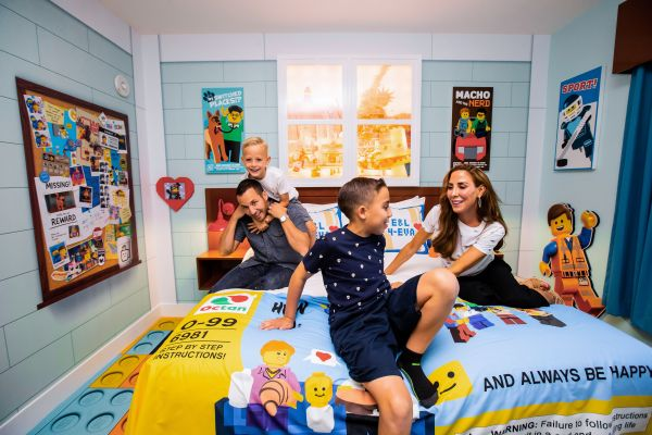 Backstreet Boys' Howie Dorough First to Stay in THE LEGO MOVIE Themed Rooms at LEGOLAND Florida Resort 3