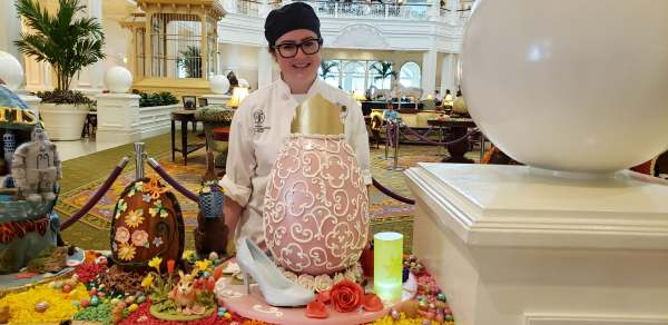 The 2019 Annual Chocolate Easter Egg Display is out at Disney's Grand Floridian Resort 1