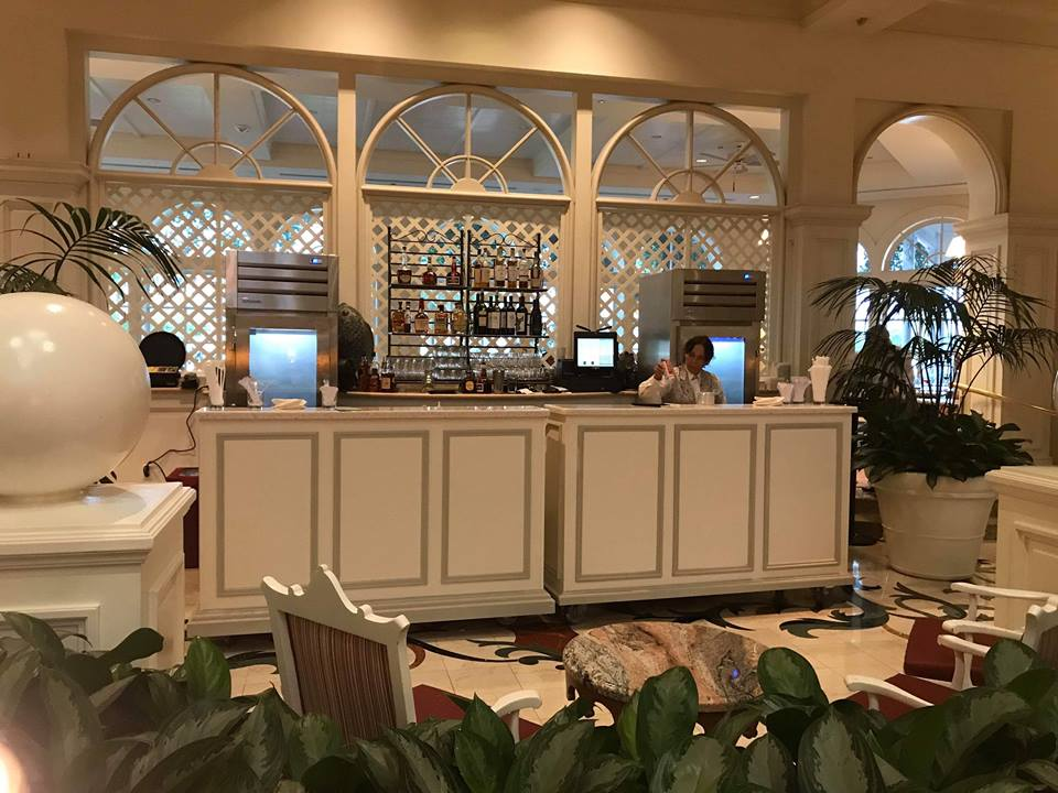 Pop Up Bar at Grand Floridian!