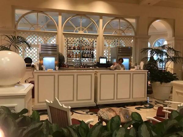 Grand Floridian Pop Up Bar