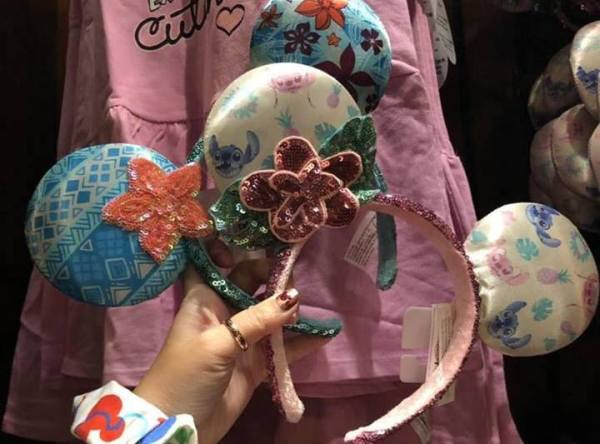 Stitch And Moana Steal The Show On The New Aulani Minnie Mouse Ears 1