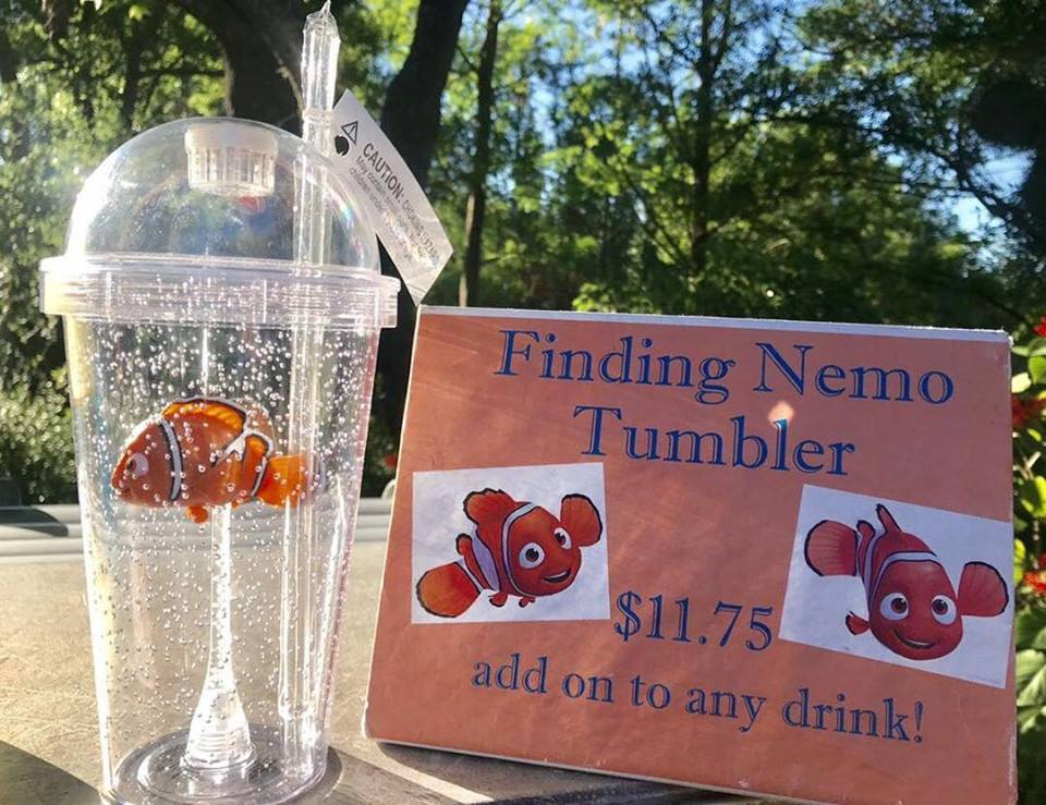 Finding Nemo Tumbler Cup Splashes Into Animal Kingdom
