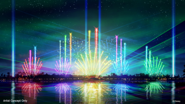 Behind the scenes sneak peek at the all new Epcot Forever Nighttime Spectacular 1