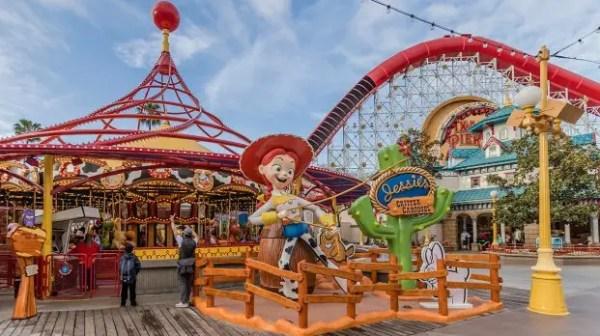 Jessie's Critter Carousel has Taken Over Pixar Pier