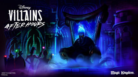 Disney Villains After Hours Events coming to the Magic Kingdom