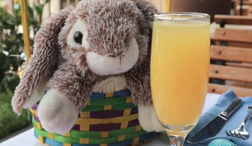 Catal's Easter Brunch with the Easter Bunny