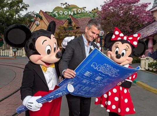Mickey & Minnie's Runaway Railway is coming to Mickey's Toontown in Disneyland