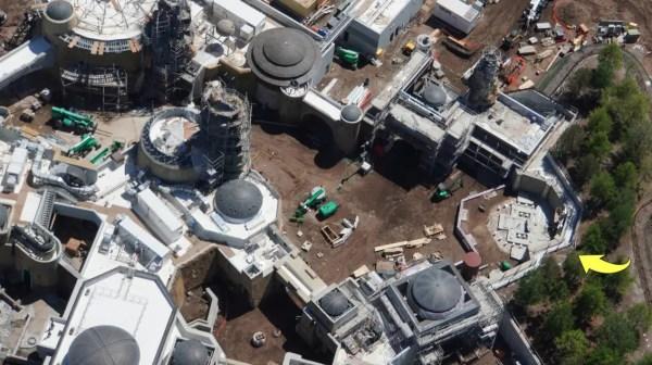 Aerial Views of Star Wars: Galaxy's Edge in Walt Disney World 4