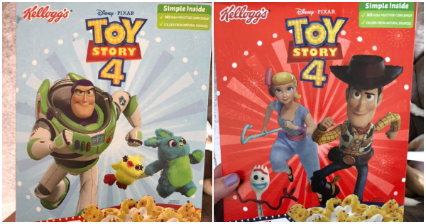 New Carnival Berry Toy Story 4 Cereal From Kellogg's