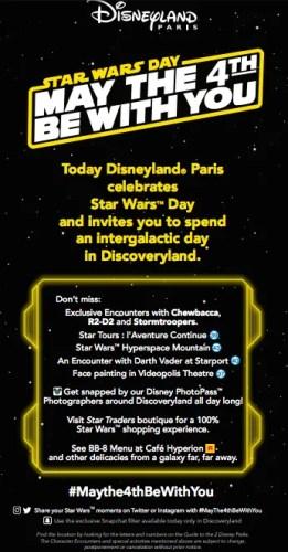 Celebrating May The 4th at Disneyland Paris! 2