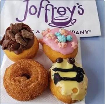 Joffrey's Mini Donuts Now Avaiable at Magic Kingdom 1