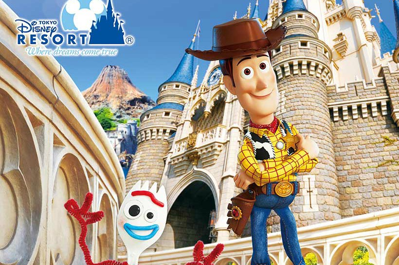 """""""Funtime with Toy Story 4"""" is coming to Tokyo Disneyland Resort"""