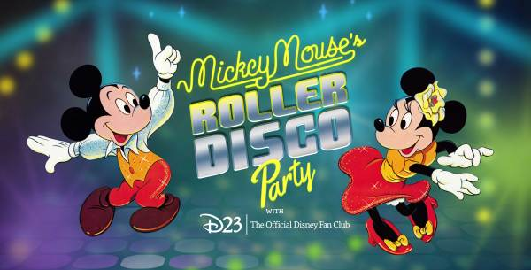 Mickey Mouse Roller Disco