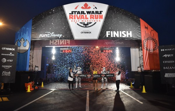 The Force was strong with the Brazilian runners Sunday at Star WarsRival Run Half Marathon 1