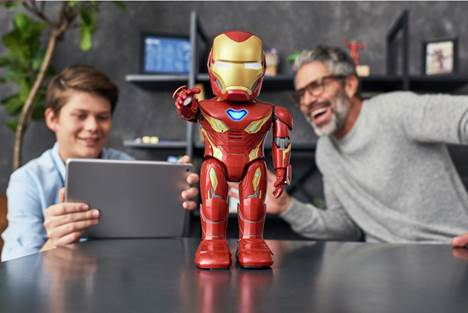 UBTECH and Marvel Team Up to Give You the Super Hero Powers of Iron Man: Introducing the Iron Man MK50 Robot 1