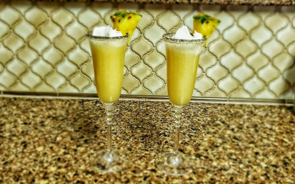 Dole Whip Mimosas are the Perfect Brunch Beverage