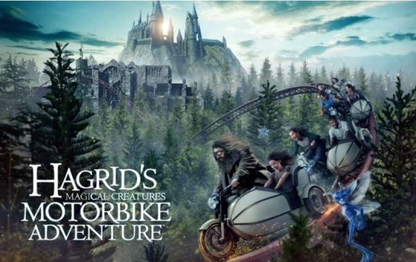 First-Ever Look At Fluffy, One Of The Magical Creatures That Await In Hagrid's Magical Creatures Motorbike Adventure 1
