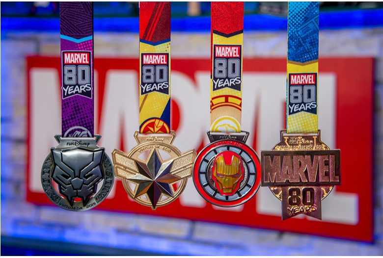 This Summer's Virtual runDisney Event Celebrates Marvel