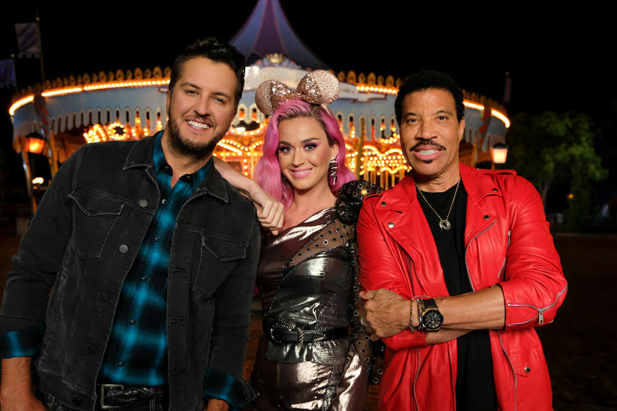 American Idol Stars and Judges Visit Disneyland