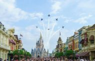U.S. Navy Blue Angels Are Set to Perform a Fly Over EPCOT in Early May