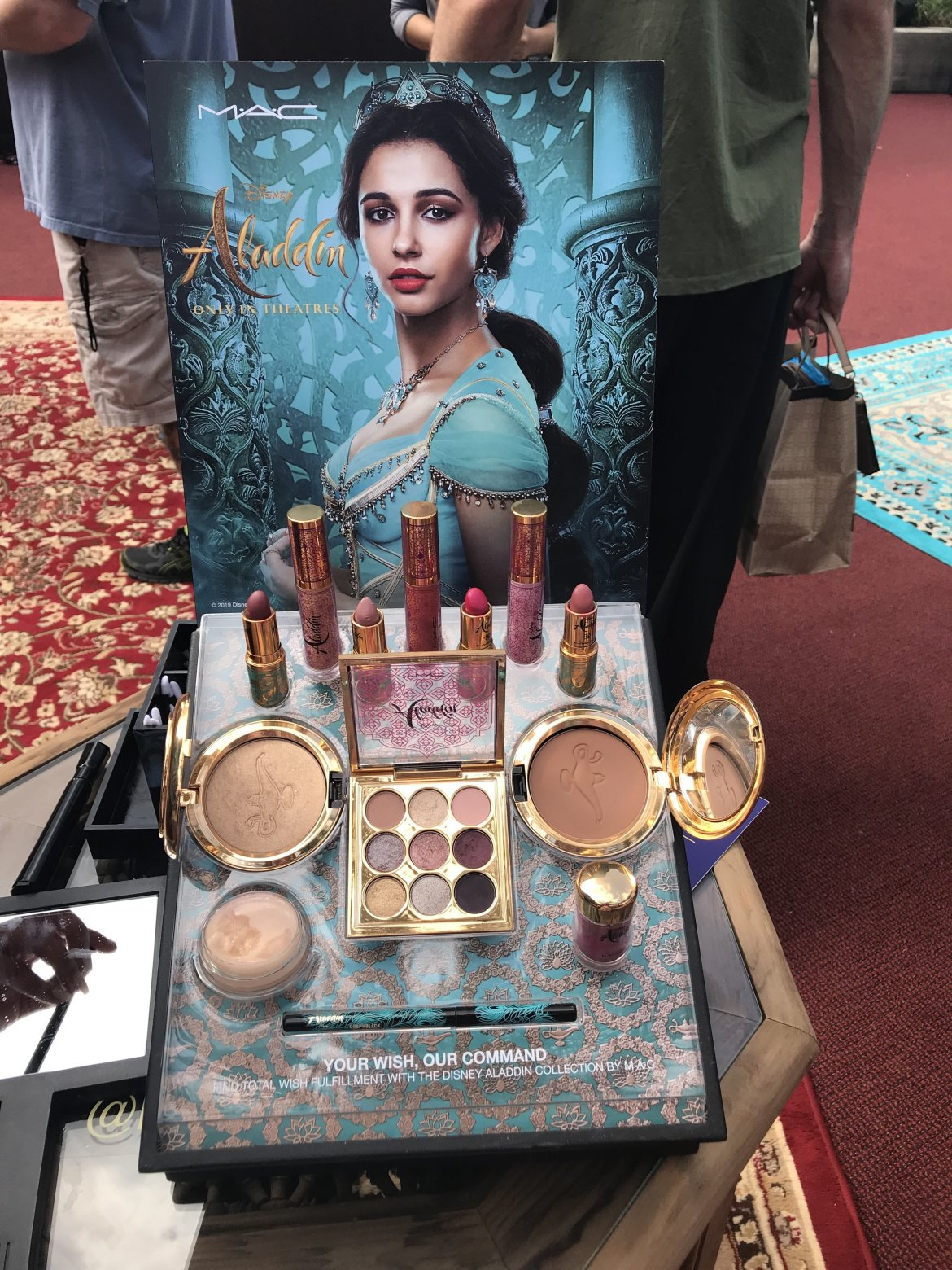 New Aladdin Collection by MAC Cosmetics Arrives at Disney Springs