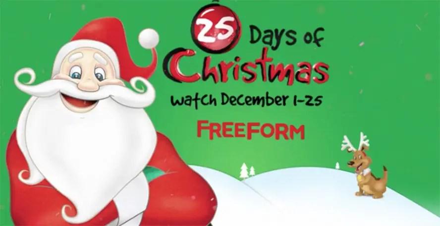 Freeform 25 Days of Christmas unwraps new holiday classics