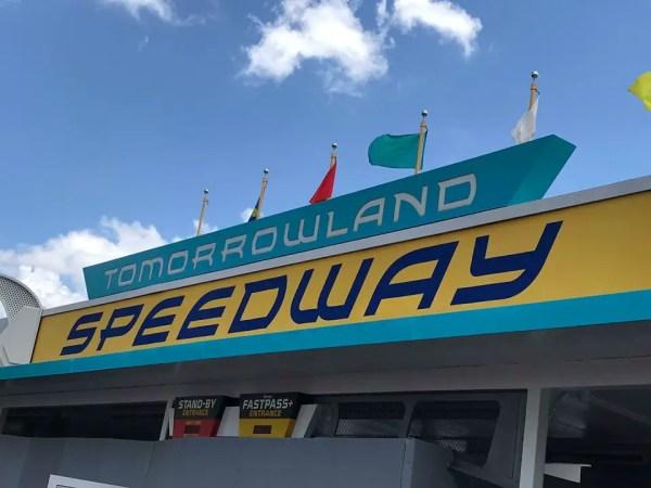 Tomorrowland Speedway Paint Job