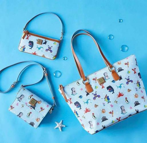 4970e031282ecd The collection has three different silhouettes available. There is a large  shopper tote, a clasped crossbody, and a zip across wristlet.