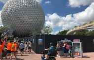 Leave A Legacy Removal Begins At Epcot