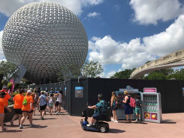 Leave A Legacy Removal At Epcot