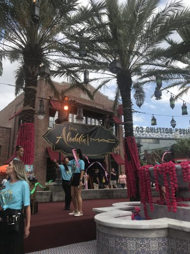 New Aladdin Collection by MAC Cosmetics Arrives at Disney Springs 9