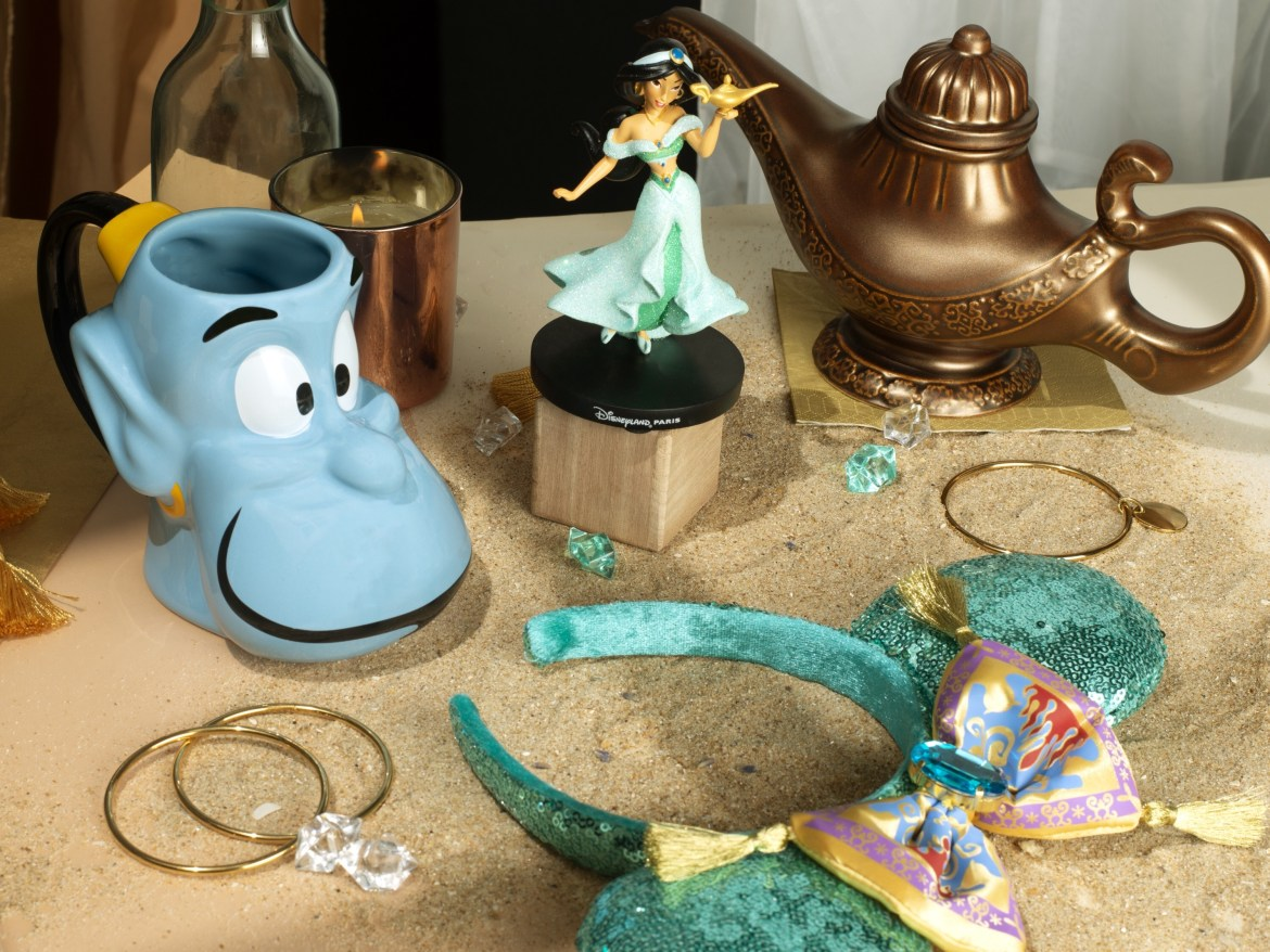 Aladdin Merchandise at Disneyland Paris