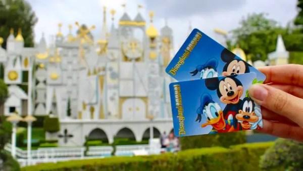 Disneyland new annual pass flex pass