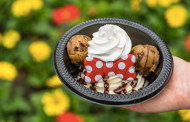 Minnie's Cookie Dough Sundae at Storybook Treats!