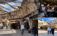 Bob Iger brings Steven Spielberg, JJ Abrams, and Kathleen Kennedy to Star Wars Galaxy's Edge