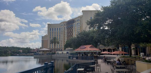 Photos: Coronado Springs Construction, Villa Del Lago and Gran Destino Tower.