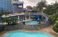 Disneyland Resort Hotel Pool Has Completed Refurbishment.