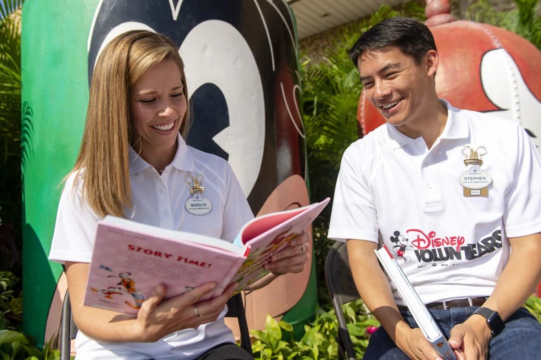 Walt Disney World Provided 40,000 Disney Books to Central Florida.