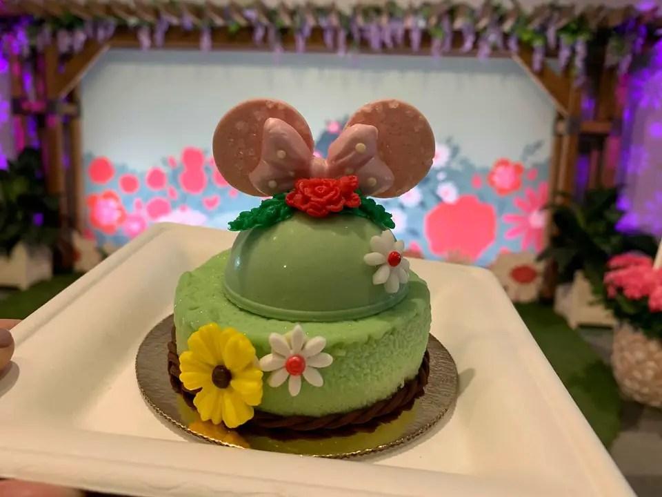 Minnie's New Garden Party Dessert
