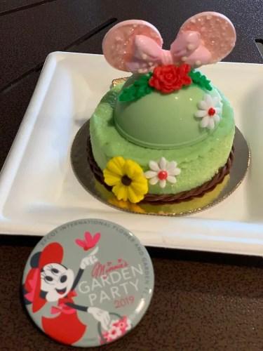 Minnie's New Garden Party Dessert 2