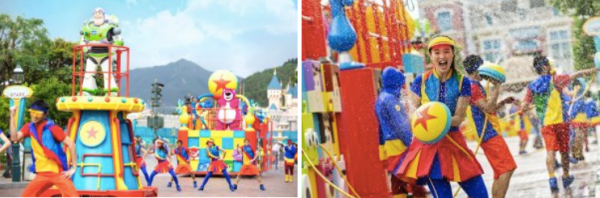 Pixar Pals Summer Splash & Toy Story coming to Hong Kong Disneyland! 2