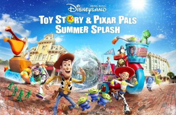 Pixar Pals Summer Splash & Toy Story coming to Hong Kong Disneyland! 1