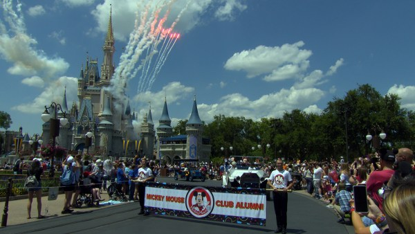 Mouseketeer Reunion Pre-Parade At Magic Kingdom